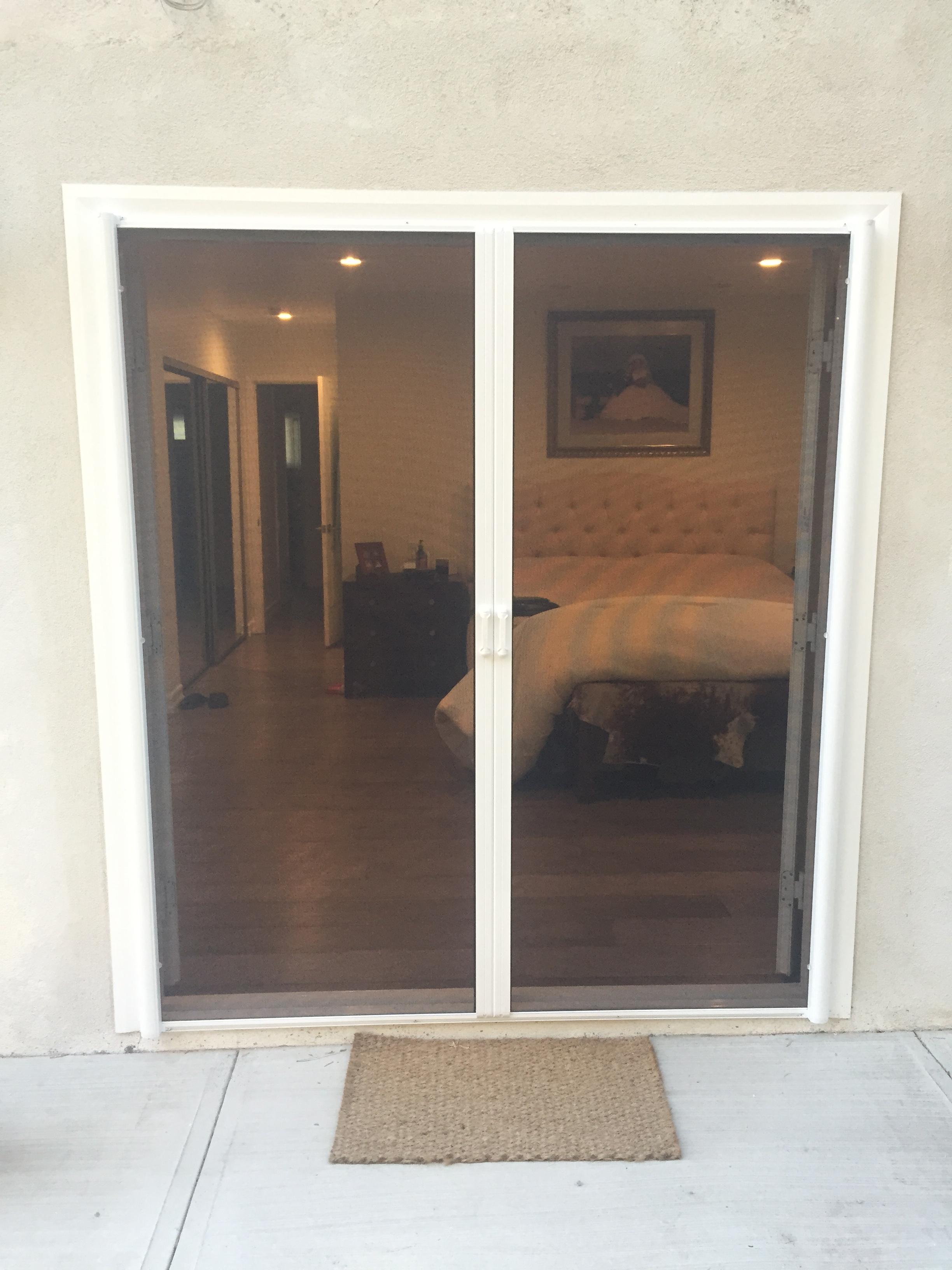 Retractable Screen Doors Lake Encino Drive, Encino