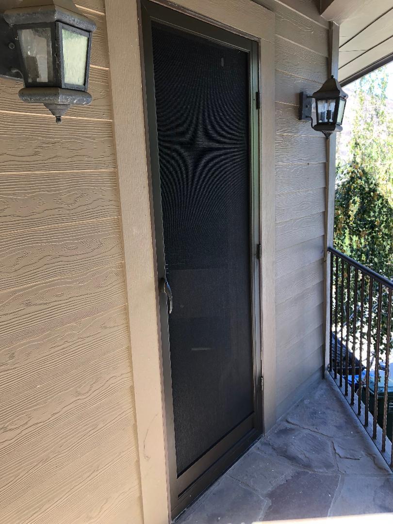 Hinged Screen Door Model Vista
