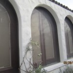 Arched Screens For Double Set French Doors in Studio City