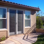 Retractable Screens on French Doors in Sherman Oaks