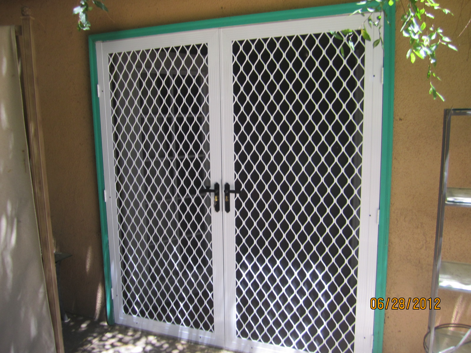 Double Set of Security Screen Doors in Northridge