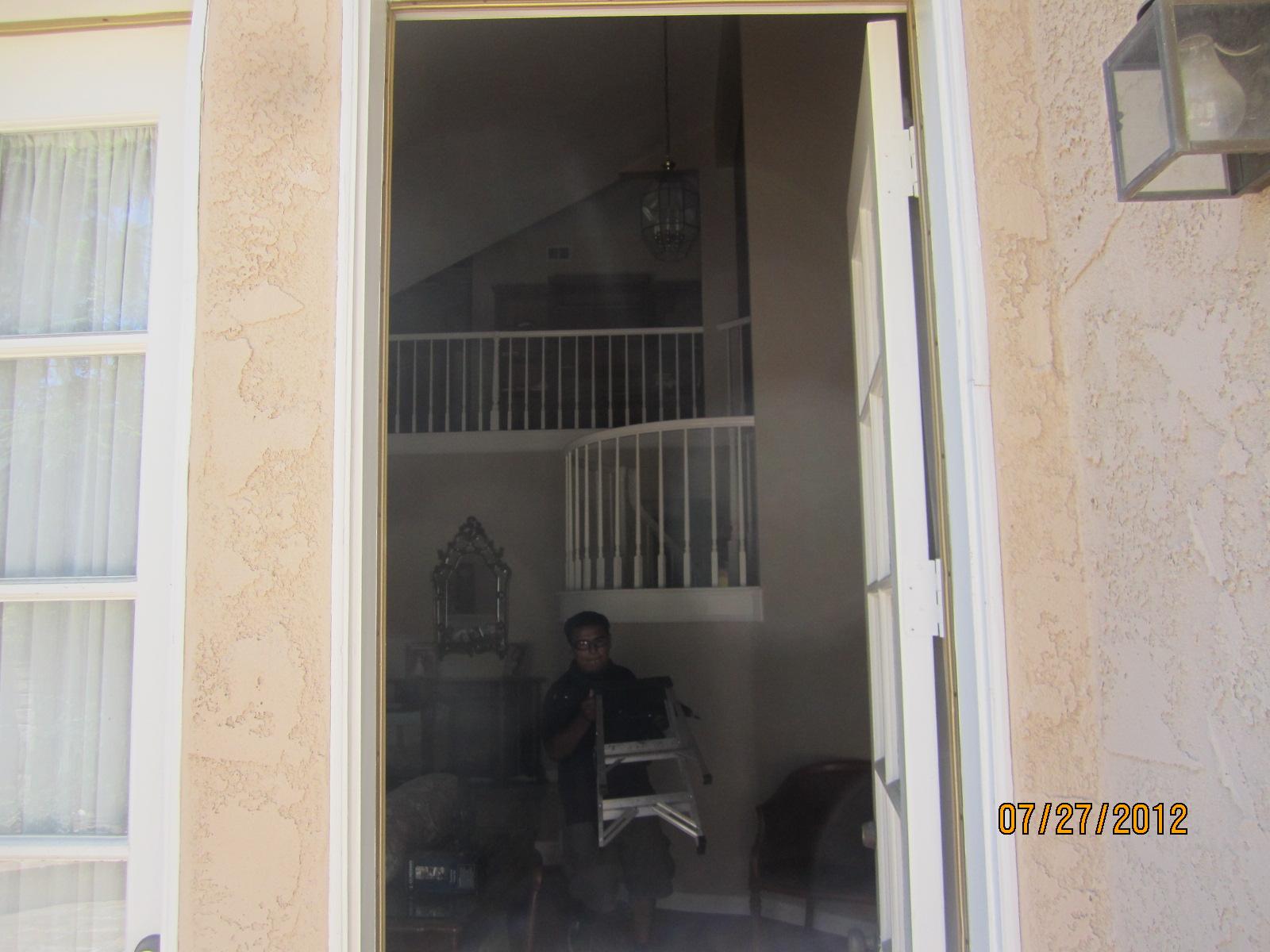 Single Swinging Door before installation in Northridge