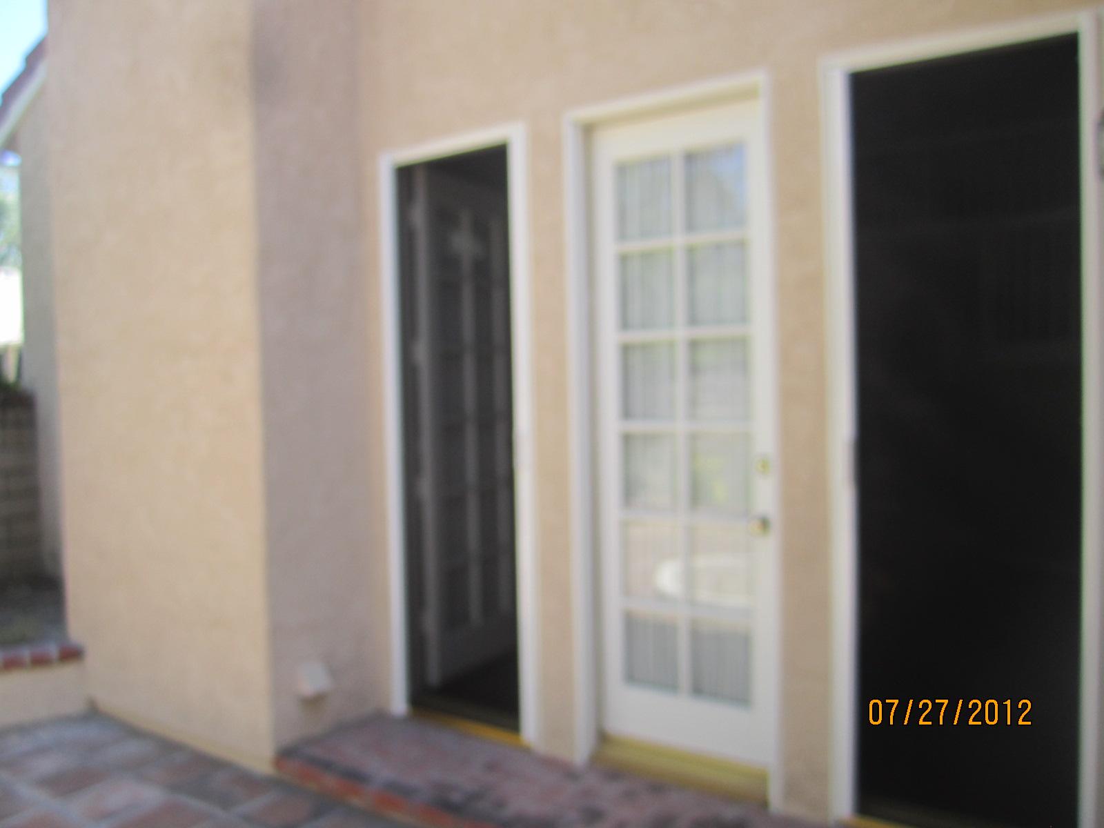 Installed Single Retractable Screen Doors in Northridge