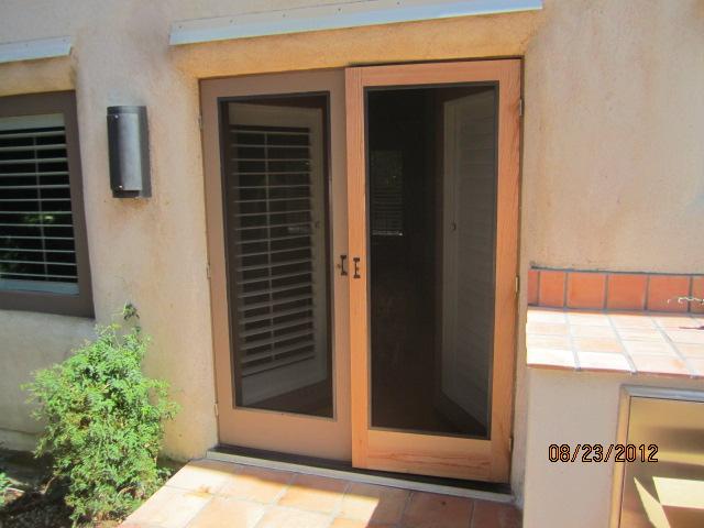 Wood Screen Doors in Westlake Village